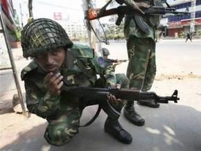 Мятеж пограничников в Бангладеш: 50 погибших