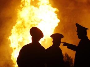 В России третьи сутки не могут потушить крупный пожар на газовой скважине