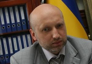 Турчинов: среди членов участковых комиссий от ПР есть лица, разыскиваемые милицией