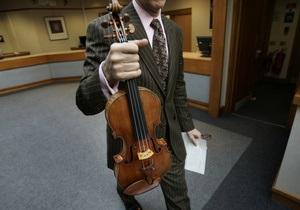В Швейцарии в бюро находок принесли скрипку Страдивари за $2,5 млн