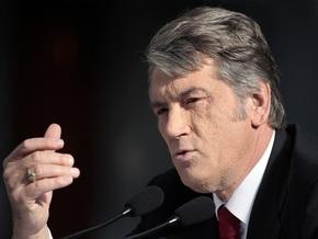 Ющенко: Газовые соглашения с Россией - бездарны