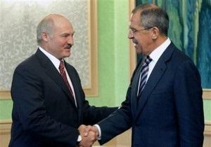 Кремль дал указание Лаврову не встречаться с Лукашенко