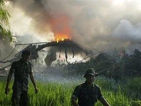 Жертвами авиакатастрофы в Индонезии стали 78 человек