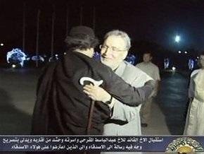 Ливийский лидер встретился с осужденным за взрыв самолета над Локерби