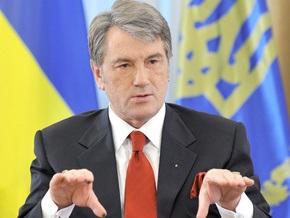 Ющенко отказался подписать закон о финансировании Евро-2012