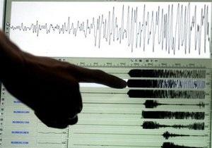 У побережья Новой Зеландии произошло землетрясение магнитудой 5,8