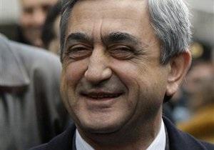 Саргсян вступил в должность президента Армении