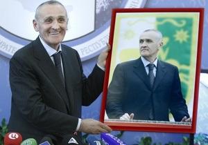 Новый президент Абхазии вступил в должность