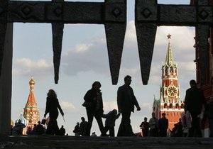 В центре Москвы задержали мужчину по фамилии Медведев с мигалкой на голове
