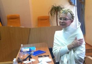 Тимошенко во время допроса Бойко не смогла скрыть эмоций