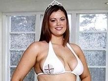 Пышечка Хлоя заняла второе место на Мисс Англия-2008
