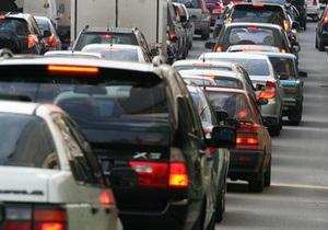 На дорогах Киева в прошлом году снизилась аварийность