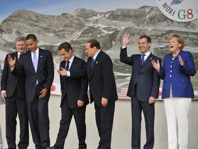Лидеры G-8: Жесткая часть кризиса закончилась, но антикризисные программы еще необходимы