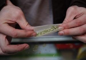 В Украине могут отменить уголовное преследование за хранение наркотиков