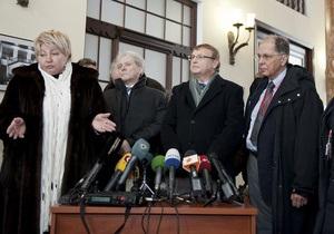 Немецкие врачи предоставят выводы обследования Тимошенко 7 марта - пенитенциарная служба