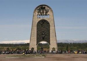 МИД РФ: Взрыв Мемориала славы в Кутаиси - кощунство и вызов мировому сообществу