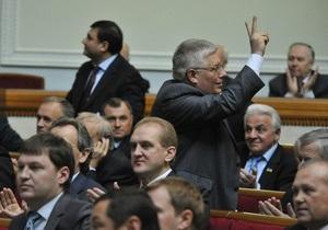 Рада решила рассмотреть законопроект о новых правилах создания коалиции