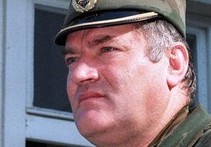 В Гааге Младича ждет одиночная камера с кроватью, телевизором и книгами