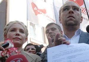 Адвокат: Тимошенко должна ознакомиться с делами по Киотскому протоколу и по скорым до 25 июня