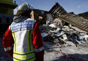 В Германии взорвался жилой дом: погибло трое людей