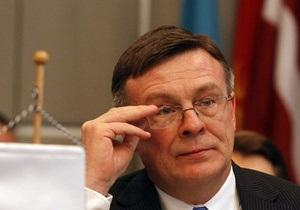 Кожара обсудил с Эштон и Фюле перспективы подписания Соглашения об ассоциации с ЕС