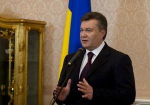 Янукович высказался по поводу языкового закона