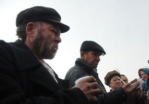 В Киеве открыли десять мобильных пунктов обогрева для бездомных