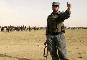 Афганские полицейские по ошибке расстреляли детей
