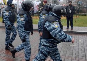 У здания Администрации Януковича задержаны 15 человек