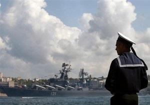 Плата за базирование Черноморского флота РФ в Украине будет увеличена до $100 млн в год