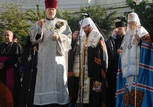 Фотогалерея: Чтобы помнили. В Киеве состоялась Всеукраинская молитва в память о жертвах войны