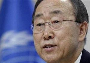 Генсек ООН потребовал немедленно снять блокаду с сектора Газа