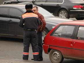 За минувшие сутки в Украине произошло 557 ДТП