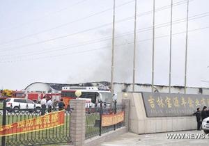 Жертвами пожара на птицефабрике в Китае стали более 110 человек