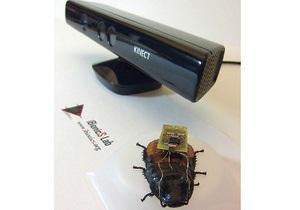 Американцы научились управлять тараканами с помощью игровой приставки  - Microsoft Kinect