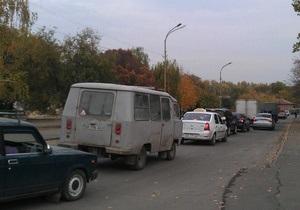 В Луганске во время визита Януковича жителям центральных улиц отключили свет