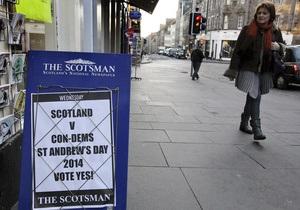 В Шотландии началась кампания за выход из Великобритании
