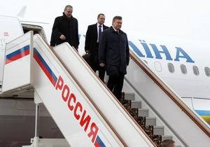 Янукович до конца года съездит в  Россию - источник