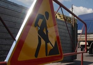 Движение на трассе Киев - Чоп в Киевской области ограничено из-за ремонта