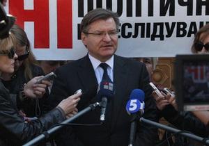 Батьківщина: Резолюция Европарламента - последнее предупреждение для Януковича