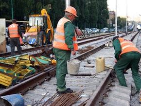 Власти отрицают нарушения в ходе реконструкции линии скоростного трамвая в Киеве