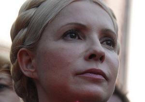 У Тимошенко в палате установили искусственную елку