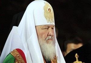 Патриарх Кирилл посетил Киево-Печерскую лавру