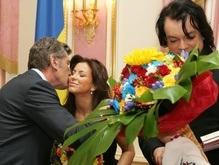 Фотогалерея: Ющенко, Киркоров и Ани Лорак