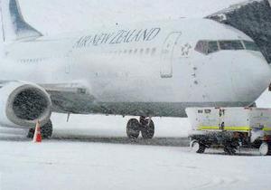 Новая Зеландия - Новую Зеландию обрушился сильнейший снежный шторм