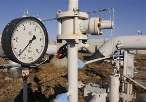 Украина сократила в июне закупки газа на 19,2%