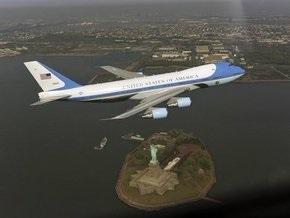 Фотосессия самолета Обамы обошлась американцам в 357 тысяч долларов