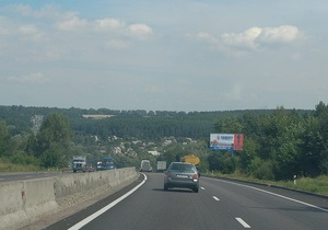 В Чехии вдоль дорог уберут все рекламные щиты