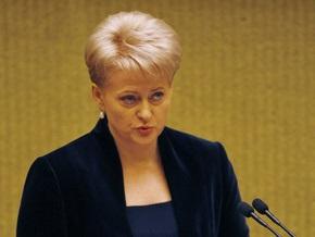 Новый президент Литвы отказалась от половины зарплаты