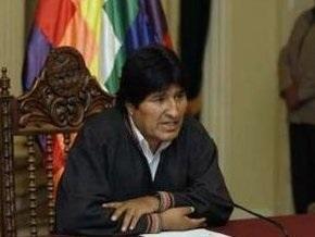 Президент Боливии четвертый день продолжает голодовку